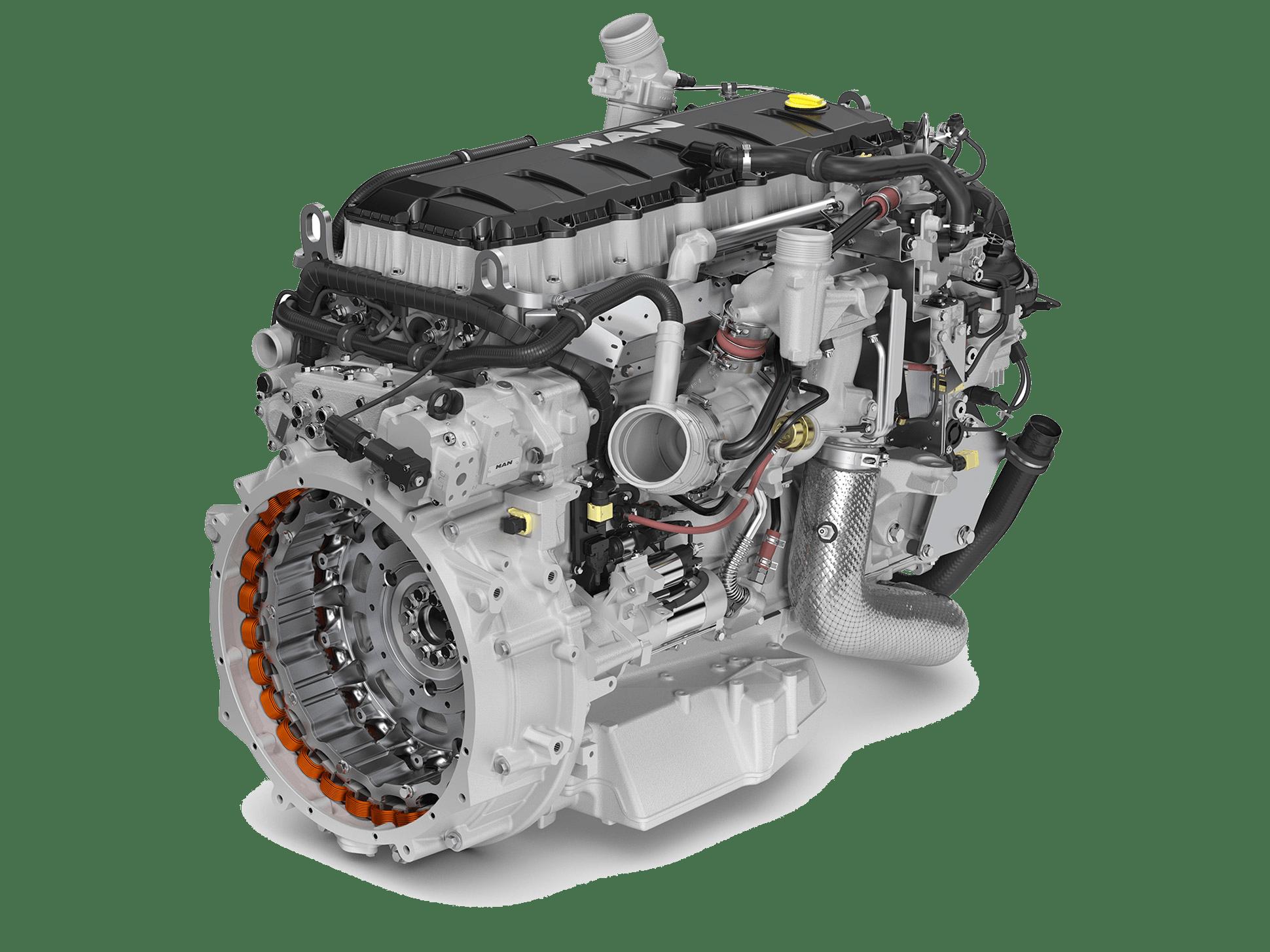 Двигатель D15
