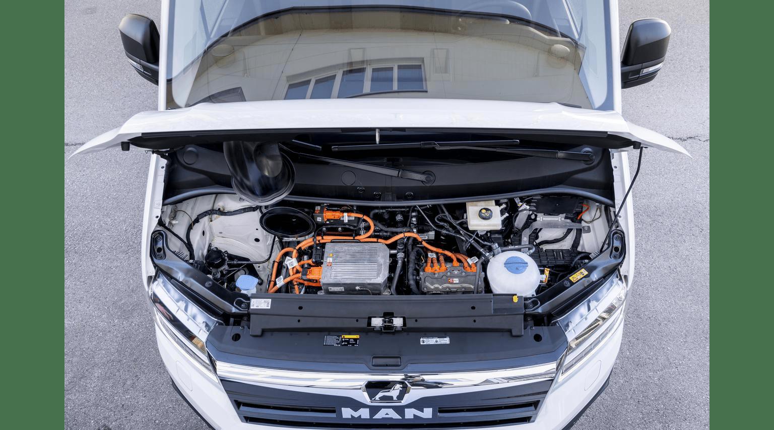 Двигатель MAN eTGE