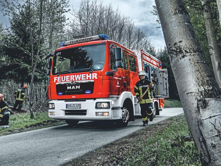 Пожарные автомобили MAN