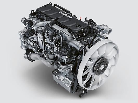 Двигатель MAN D1556