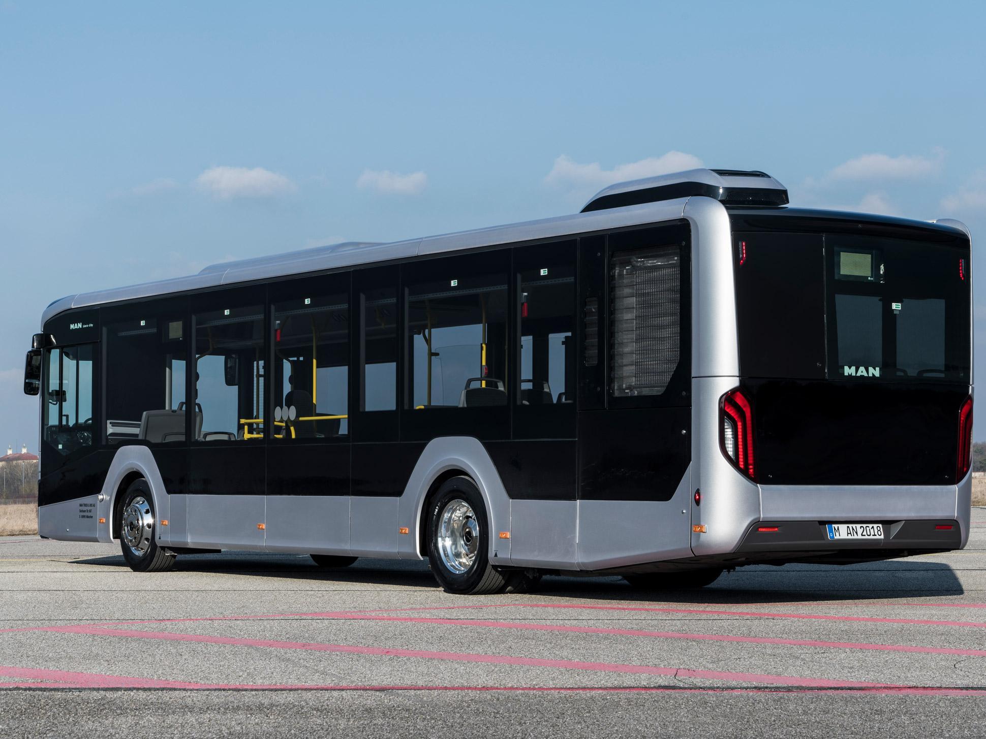 Автобус MAN Lion's City 2018