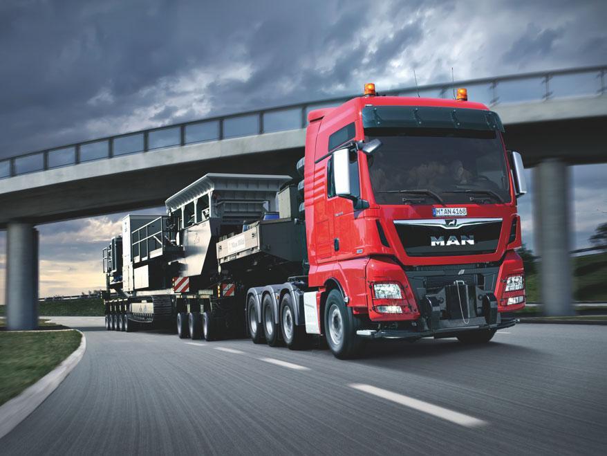 Специальное назначение грузовиков MAN